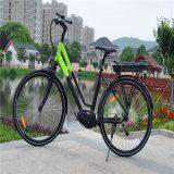 bicicletta elettrica del Metà di-Motore centrale centrale della città della strada della donna di 36V 250W