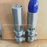 Ss304 Ss316L пневматический клапан регулирования расхода утечки