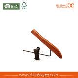 La luz de estilo funcional colgador de palo de madera con abrazaderas metálicas (MC016)