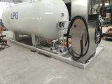 Estação de enchimento 10cbm 5t do patim do LPG com outras especificações