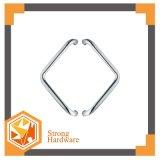 Maniglia curvata piegata di vetro dell'acquazzone del portello scorrevole della maniglia della maniglia di portello