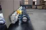 CF8m Platten-Drosselventile mit elektrischem Stellzylinder (D971X-10/16)