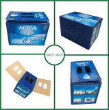 L'abitudine ha stampato 24 scatole di cartone della birra delle bottiglie