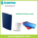 De ultra-slanke Draagbare Dunne Lader Powerbank van het Aluminium Slim voor Mobiele Telefoons