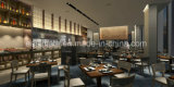 中国フォーシャンEMTの椅子および表のレストランの家具