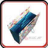 Cierre elástico personalizada La ampliación del archivo de carpetas de cartón