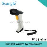 Inalámbrico láser escáner de código de barras, código de barras escaneado láser portátil inalámbrico