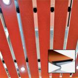 Soffitto di alluminio della striscia del soffitto decorativo di legno di colore