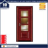 La coutume de l'intérieur placage en bois MDF laminé PVC avec un verre de porte
