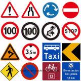 교통 표지 사려깊은 물자 사용 도로 공도