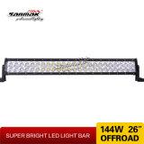 barra fuori strada chiara della barra 4X4 LED del CREE di 26inch 144W