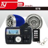 Audio impermeabile del motociclo con il sistema di allarme antifurto USB