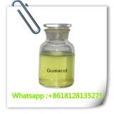 Guaiacolo sicuro CAS 90-05-1 dei solventi organici per la polvere solvibile degli steroidi