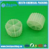 Media de filtro plásticos de Mbbr para o tratamento da água