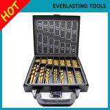 Le foret de torsion de Ti de l'outil Drilling HSS place 99PCS