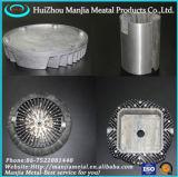 Alta precisión, el magnesio/aluminio moldeado a presión de la luz de LED de la vivienda
