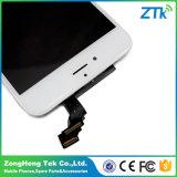 白黒iPhone 6のタッチ画面のための携帯電話LCD