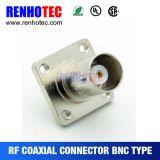 Verbinder des BNC gerader Paneljack-Flansch-BNC