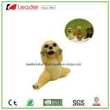 Novo cão encantador Polyresin com Figurine de ioga para decoração de casa e ornamentos de jardim
