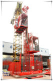 96m/min velocidad Sc200/200 construcción material y pasajeros elevador