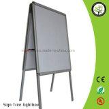 Support d'affichage de support d'affiche en aluminium extérieur