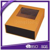 El cierre magnético rígido de papel caja de regalo de ropa de embalaje