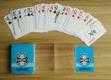 Cartões de jogo do PVC do plástico do projeto do futebol de Brasil