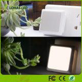 Helles Nachtlicht des Fühler-LED mit Stecker Walll Licht