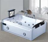 Erstklassiger Massage-Badewanne LUXUXBADEKURORT mit Tvdvd für Landhaus (AT-8832TVDVD)