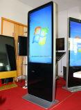 De volledige Digitale Signage HD LEIDENE Kiosk van het Comité met het Af:drukken van het Ontvangstbewijs