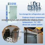 Glastür-Eisspeicher-Sortierfach für Förderung verwendete (WGL-400)