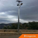 Luz de calle solar caliente de la venta los 4m los 5m los 6m los 7m los 8m los 9m 10m LED por 5 años de la garantía LED de luz de calle solar