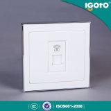 Выход стенной розетки телефона Igoto B9074 Rj11 электрический