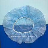 Casquillos Bouffant no tejidos médicos disponibles quirúrgicos