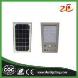 il movimento alimentato solare 6W illumina gli indicatori luminosi solari senza fili Ultra-Sottili della parete di via del portico del giardino