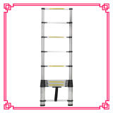 Leichter breiter Jobstepp-Bambusaluminiumstrichleiter
