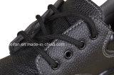 スリップ防止革安全靴