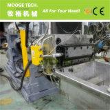 Máquina de granulación plástica tejida PP de los bolsos de la película del PE de la refrigeración por agua