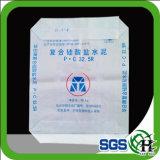 Bolso del cemento de la válvula de la estrella del anuncio de los PP de la alta calidad 50kg