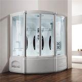 2人の緩和されたガラスの蒸気のシャワー室(M-8215)