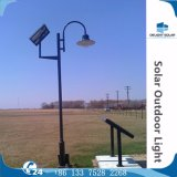 2.5m/3m/4m 단 하나 두 배 램프 태양 옥외 장식적인 공원 정원 LED 빛