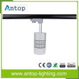 MAZORCA de plata negra blanca LED Tracklight del CREE 10With15With30W