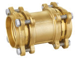 Raccords de compression en laiton pour les pe tuyau (75-110mm)