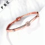 2017의 형식 보석 합금 수정같은 모조 다이아몬드 사치품 팔찌
