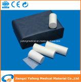 セリウムISOの証明書が付いている有機性綿のガーゼの包帯