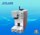 Tipo portable máquina de la marca del laser de la fibra y máquina de grabado