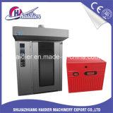 El horno rotatorio del aire caliente con la panadería atormenta 16/32/64 de las bandejas