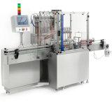 4-12 tipo linear máquina de las pistas de etiquetado de la máquina de rellenar del petróleo