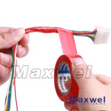 Faites de PVC le soutien de la colle de ruban isolant en caoutchouc