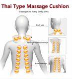 Amasar el cojín del masaje de la parte posterior de la piedra del jade